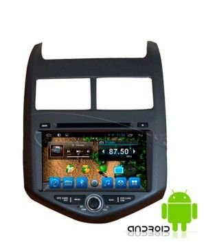 Штатная магнитола Carsys CS9081 Chevrolet Aveo Android 6.0.1 (4 ядра) 8""
