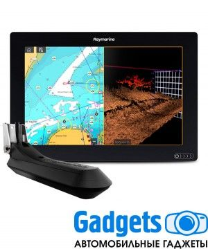 "Многофункциональная система навигации Raymarine AXIOM 9 RV, Multi-function 9"" Display with integrated RealVision 3D, 600W Sonar with RV-100 transducer"