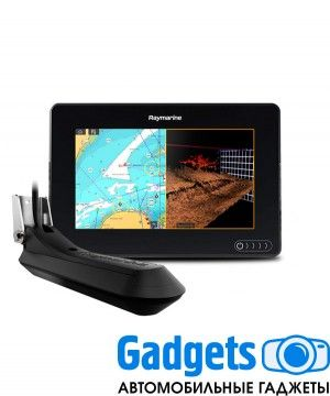 "Многофункциональная система навигации Raymarine AXIOM 7 RV, Multi-function 7"" Display with RealVision 3D, 600W Sonar with RV-100 transducer"