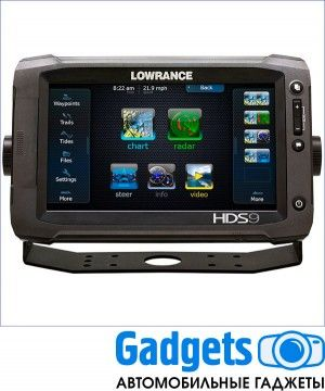"Эхолот Lowrance HDS-9 Gen3 ROW with StructureScan + HST-WSBL (000-11800-002 - 9"")"