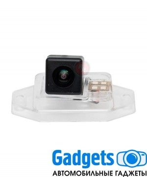 Камера заднего вида для Toyota Land Cruiser Prado 120 (2002-2009) с запаской на двери Fish eye RedPower TOY171F